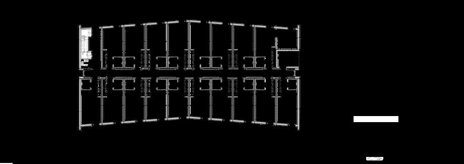 Thumbnail of 1. talon 3. kerroksen pohjapiirustus