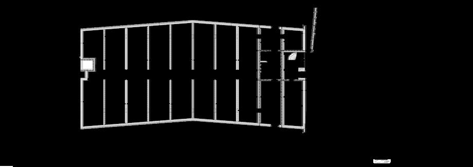 Thumbnail of 1. talon kellarikerroksen pohjapiirustus