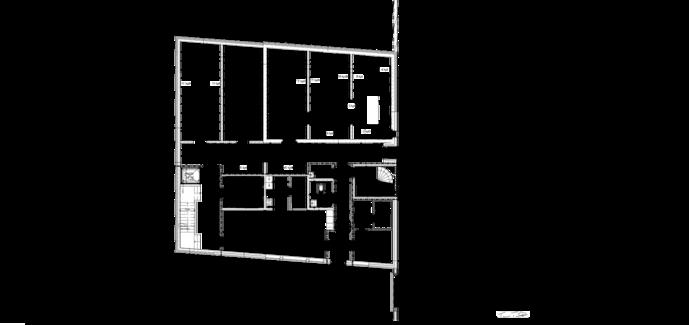 Thumbnail of 2. talon kellarikerroksen pohjapiirustus