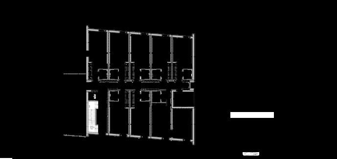 Thumbnail of 2. talon 1. kerroksen pohjapiirustus