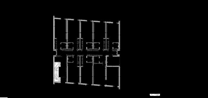 Thumbnail of 2. talon 4. kerroksen pohjapiirustus