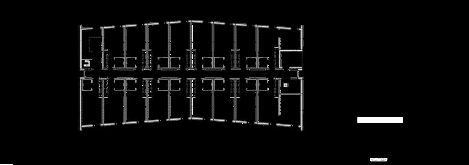 Thumbnail of 1. talon 4. kerroksen pohjapiirustus
